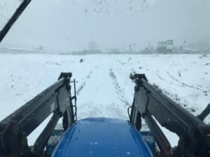 田中農場2020年積雪