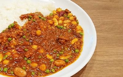 大豆のトマトカレー