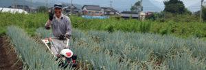 鳥取・田中農場のとろっと甘〜い特別栽培白ネギの栽培担当リーダー谷口さん