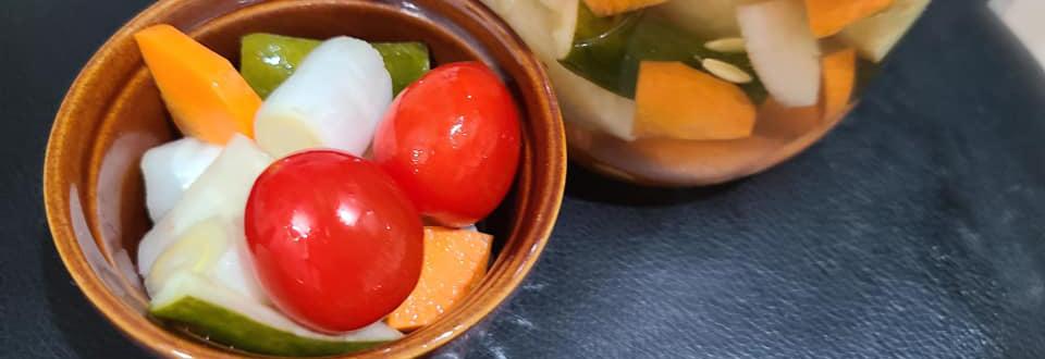 鳥取・田中農場特製白ねぎ酢でまろやか!やみつき和風ピクルス