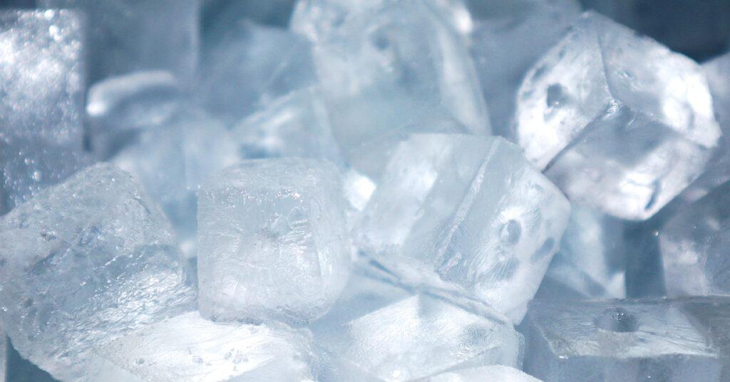 製氷機の氷