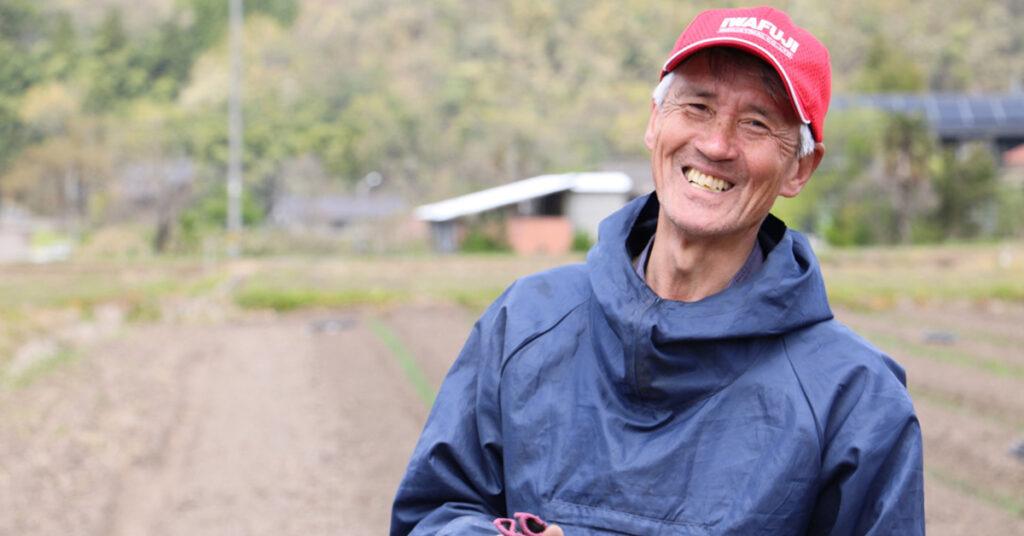 鳥取・田中農場の白ねぎ栽培の担当リーダー 谷口リーダー